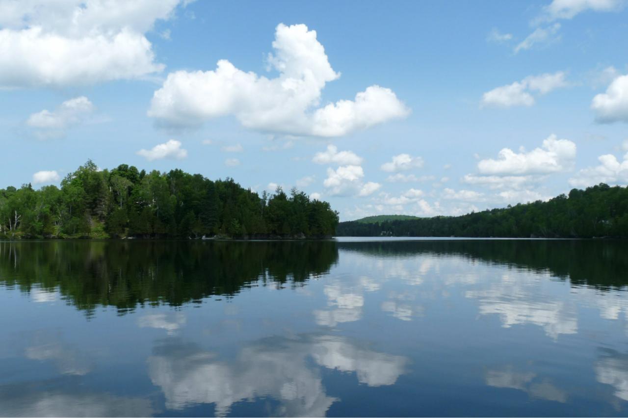 Partie sud du lac